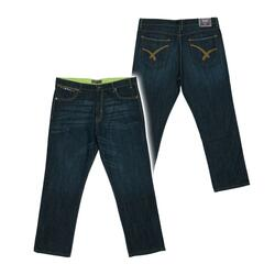 "Ed Baxter fashion jeans (Dark blue) (34"")"