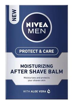 Protect And Care Moisturising After Shave Balm (100ml) - Nivea Men