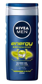 Energy 24H Fresh Effect Shower Gel (250ml) - Nivea Men