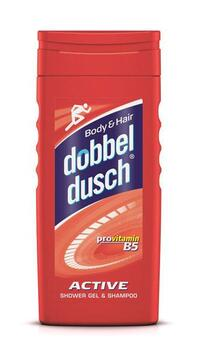 Active Shower Gel & Shampoo (250ml) - Dobbeldusch