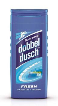 Fresh Shower Gel & Shampoo (250ml) - Dobbeldusch