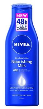 Rich Body Lotion Nourishing Milk (250ml) - Nivea