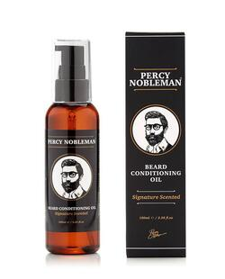 Percy Nobleman Beard Conditioning Oil, Signature Scented (100 ml.)