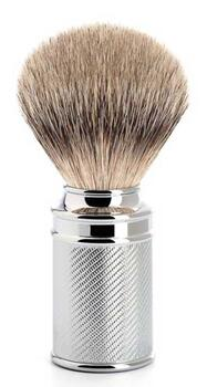 Mühle Silvertip Badger barberkost, 21mm, Traditional, Krom