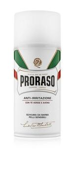 Proraso Barberskum - Sensitive, Grøn Te & Havre (300 ml.)