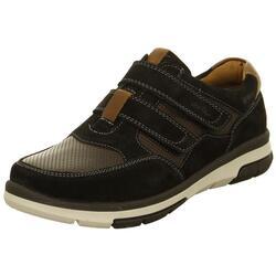 8880c4590f5 Sorte sko med velkroremme og ekstra vidde - Ara