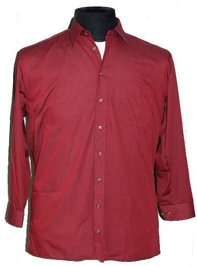 b1430827 Køb Bordeaux skjorte - God pris: 175,00 DKK,-