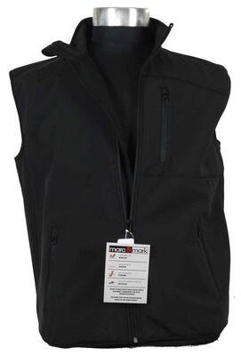 Softshell vest (Sort)