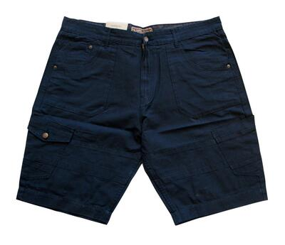 Ed Baxter Canvas shorts (Navyblå)