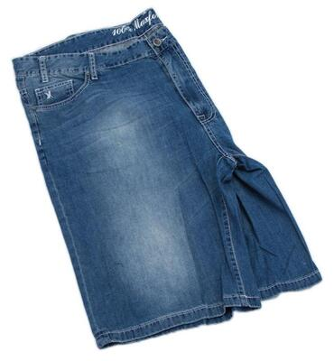 Maxfort denim bermuda shorts