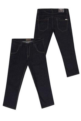 "Ed Baxter fashion dark denim jeans (34"")"