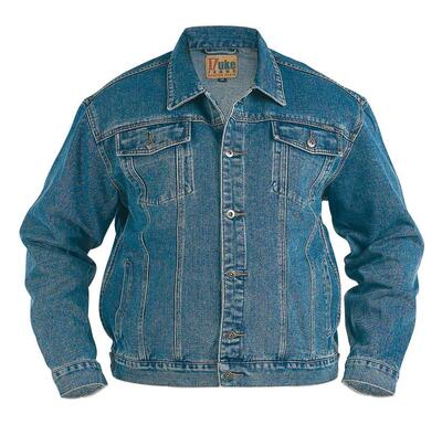 Duke London Denim Jakke (Stonewash)