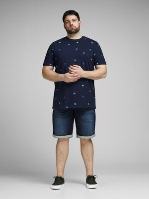 Blå denim shorts (Indigo Knit) - Jack & Jones