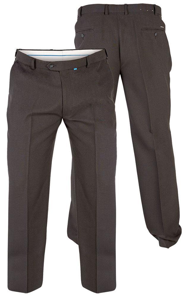D555 klassiske sorte bukser (Xtenda waist) (30