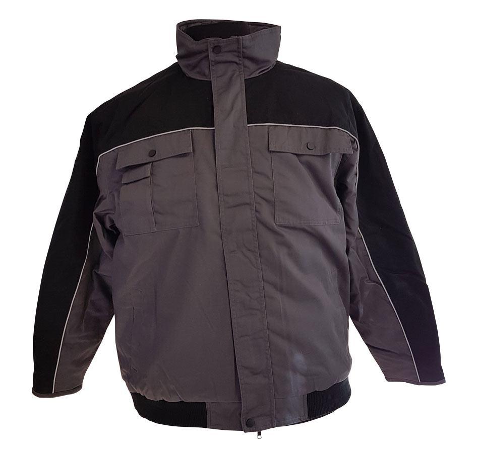 Af modish Arbejdsjakke i stor størrelse til mænd - 3XL til 8XL CV76